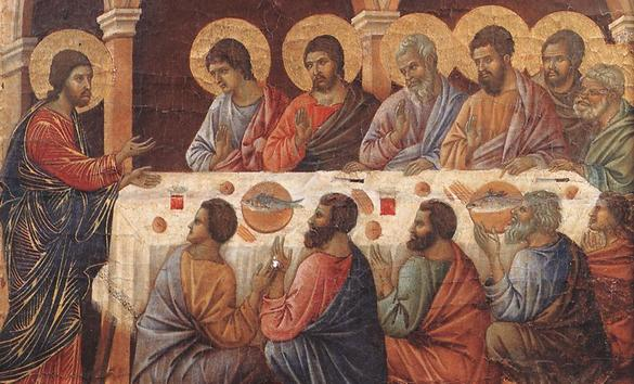 12 Apostles at the Last Supper